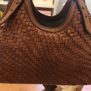 Cole haan crochet bag